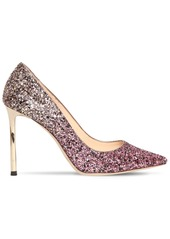 Jimmy Choo 100mm Romy Dégradé Glitter Pumps