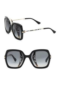 53MM Jonas Tortoiseshell Large Sunglasses