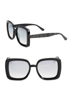 Jimmy Choo 54MM Cait Square Sunglasses