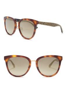 Jimmy Choo Cade 55mm Cat Eye Sunglasses