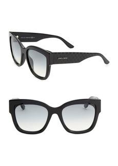 Jimmy Choo 55MM Roxie Square Sunglasses