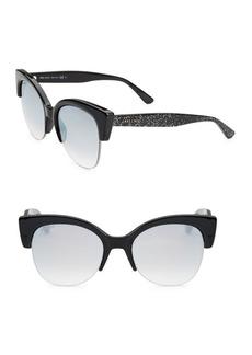 56MM Priya Clubmaster Sunglasses