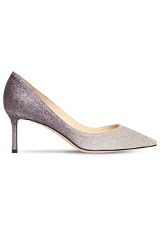 Jimmy Choo 60mm Romy Gradient Glitter Pumps