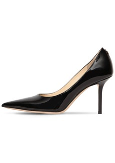 Jimmy Choo 85mm Love Patent Leather Pumps