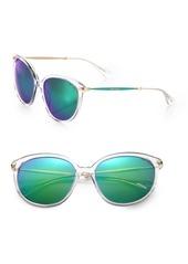 Jimmy Choo Acetate Round Sunglasses
