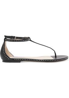 Jimmy Choo Afia Studded Leather Sandals