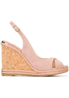 Jimmy Choo Amely 105 wedge sandals