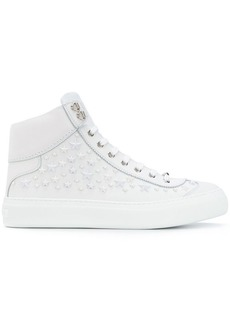 8b01853f81d Jimmy Choo Belgravia Men s Dégradé Patent Leather High-Top Sneakers ...