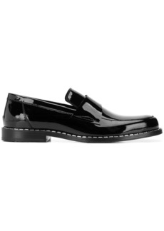 Jimmy Choo Bane crystal trim loafers