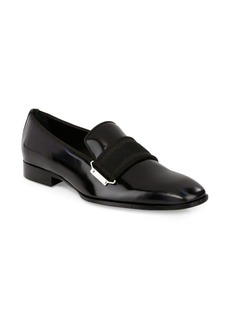 Jimmy Choo Belted Leather Loafers