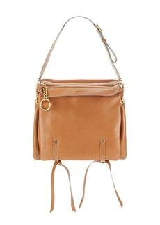 Jimmy Choo Borsa Textured Leather Shoulder Bag