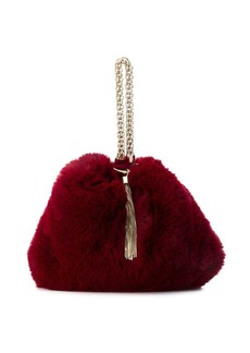 Jimmy Choo Callie faux fur clutch