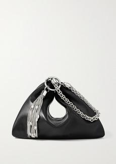 Jimmy Choo Callie Tasseled Leather Clutch