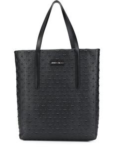 Jimmy Choo Pimlico star-embellished tote bag