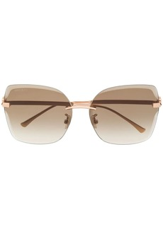 Jimmy Choo Corin square frame sunglasses