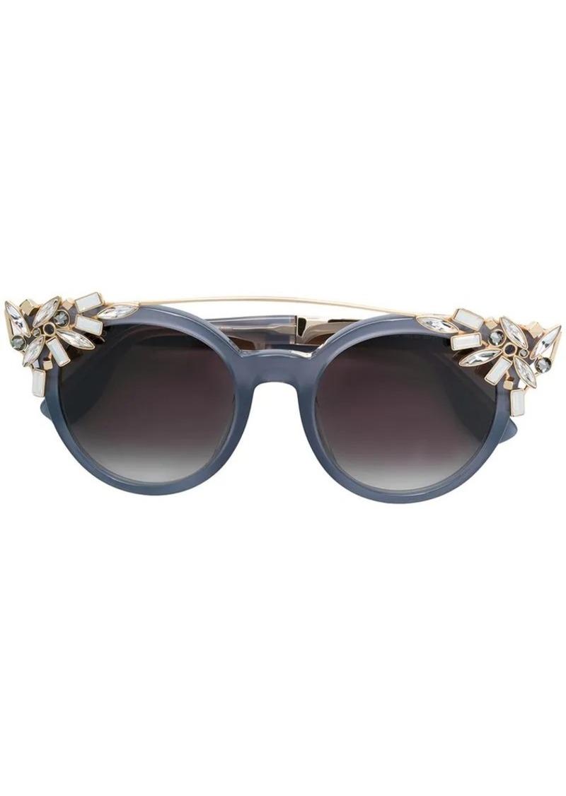 e860705bdd2a Jimmy Choo crystal embellished carryover sunglasses