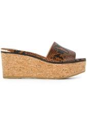 Jimmy Choo Deedee 80 wedge sandals