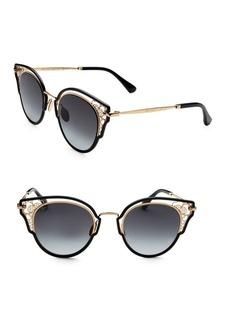 Jimmy Choo Dhelia 48MM Panthos Sunglasses