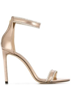 Jimmy Choo Dochas 100mm embellished sandals