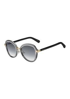 Jimmy Choo Drees 51mm Butterfly Sunglasses