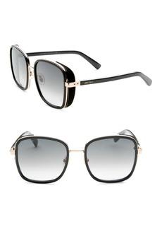 Jimmy Choo Elvas Square Sunglasses