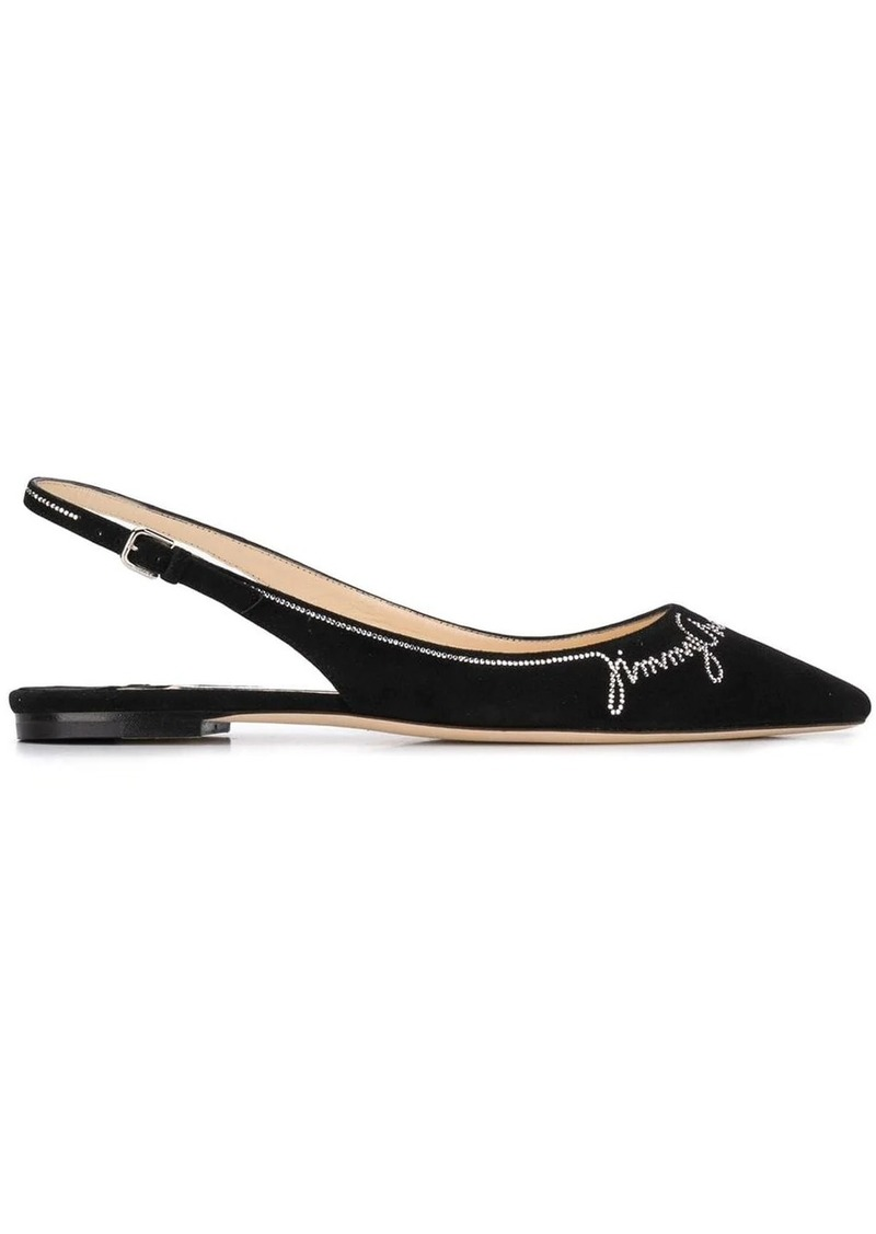 Jimmy Choo Erin Flat ballerina shoes