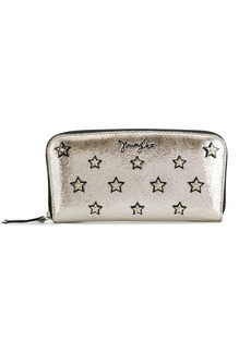 Jimmy Choo Filipa star-studded long wallet