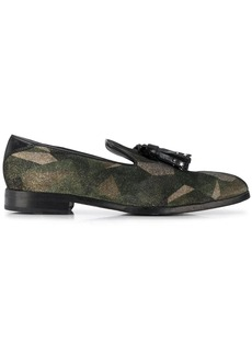 Jimmy Choo Foxley patchwork loafers