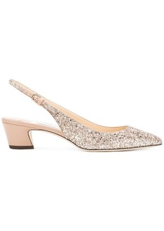 Jimmy Choo Gemma 40 glitter pumps