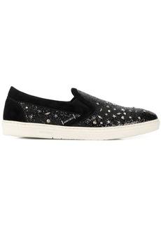 Jimmy Choo Grove glitter-look sneakers