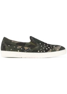 Jimmy Choo Grove studded slip-on sneakers