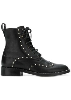 Jimmy Choo Hanah pearl embellished boots
