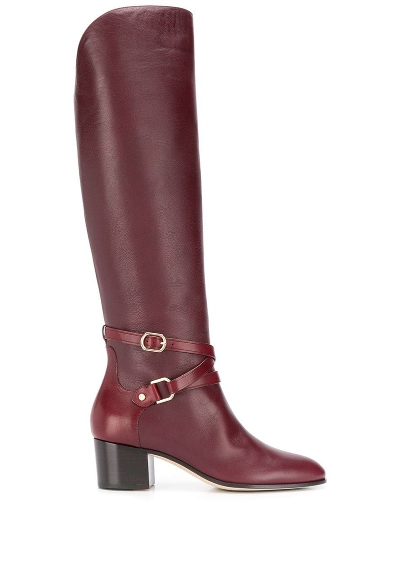 Jimmy Choo Huxlie 45mm calf boots