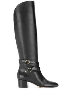 Jimmy Choo Huxlie 45mm low-heel boots