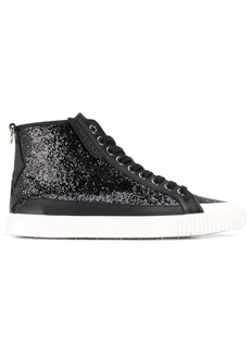 Jimmy Choo Impala glitter-effect sneakers