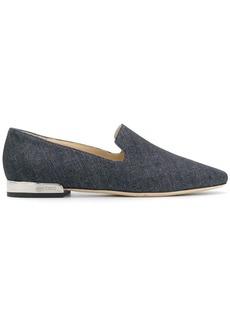 Jimmy Choo Jaida denim slippers