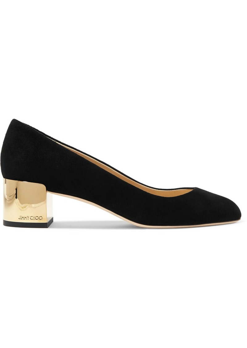 Jimmy Choo Jessie 40 Suede Pumps