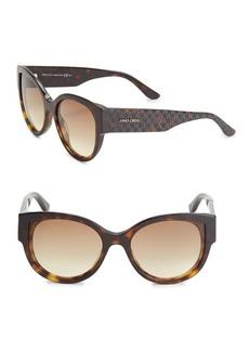 Jimmy Choo 50MM Round Groove Sunglasses