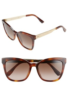 Jimmy Choo 55mm Retro Sunglasses