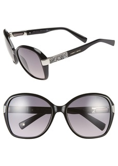 Jimmy Choo 57mm Butterfly Sunglasses