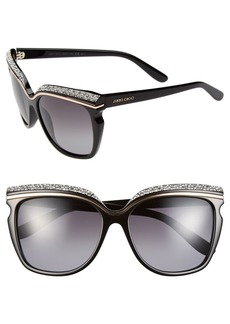 Jimmy Choo 58mm Retro Sunglasses