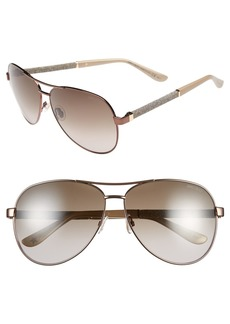 Jimmy Choo 61mm Aviator Sunglasses