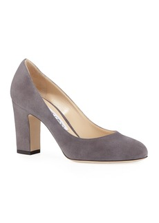 Jimmy Choo 85mm Billie Suede Pumps