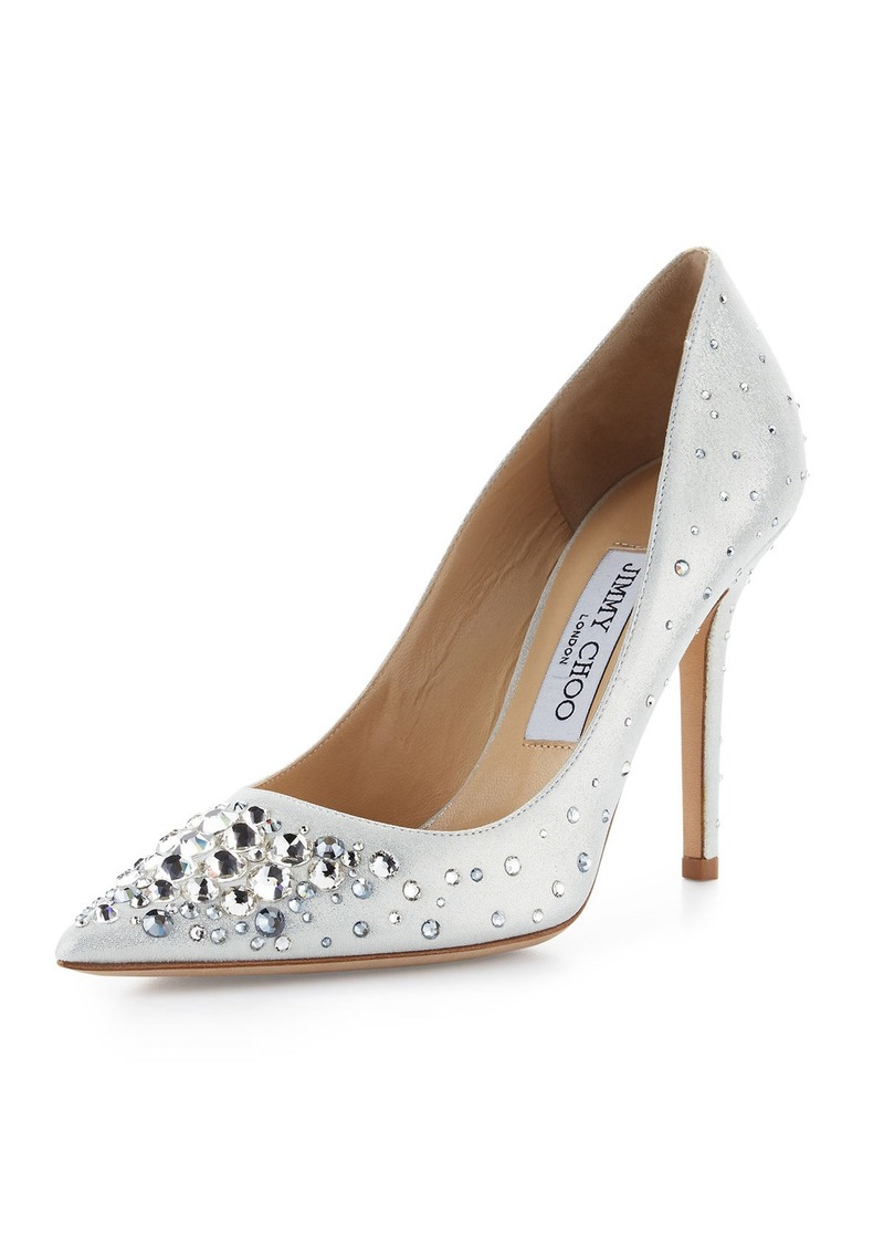 86085bd5da49 Jimmy Choo Jimmy Choo Abel Crystal Pointed-Toe Pump Now  703.00