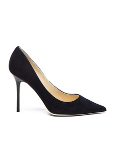 Jimmy Choo Abel 100 Suede Pumps
