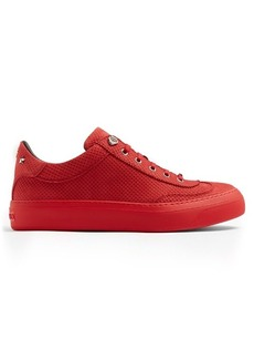 Jimmy Choo Ace perforated-effect low-top nubuck trainers