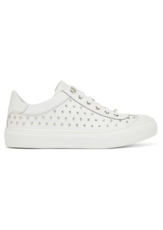 Jimmy Choo Ace stud-embellished leather trainers