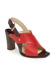 Jimmy Choo Aix Cross Strap Sandal (Women)
