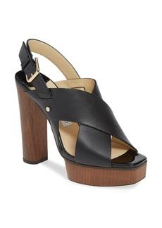 Jimmy Choo Aix Platform Slingback Sandal (Women)