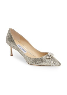 Jimmy Choo Alexa Embellished Pump (Women)